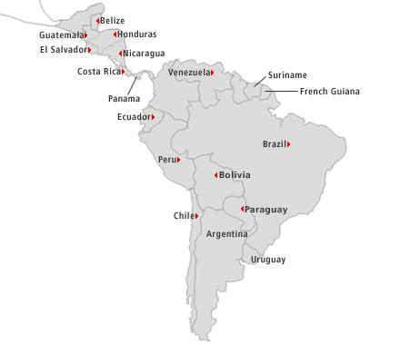 map of latin america latin america is made up of mexico car rentals in north america avis north american locations