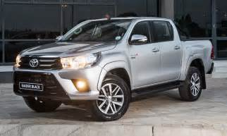 Www Toyota Sa Toyota Hilux Black Edition Models Hit South Africa
