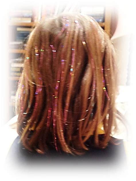 spirit strands glitter hair flavia kate peters