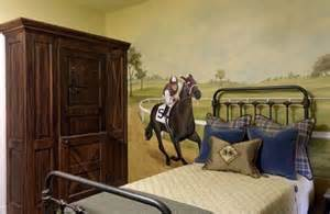 Bedroom Horse Decor Triple Crown Horse Themed Bedroom Design Dazzle