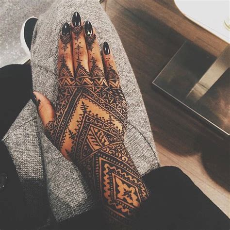 hand tattoo tumblr henna