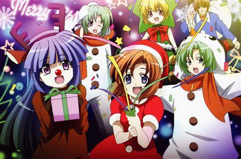 wallpaper anime christmas anime christmas wallpapers 2013 free for download 1
