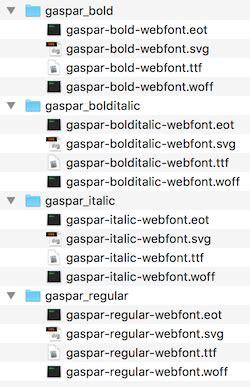 gantry 5 typography adding and using fonts gantry documentation