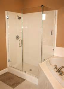 install glass shower door mission glass shower doors custom shower doors