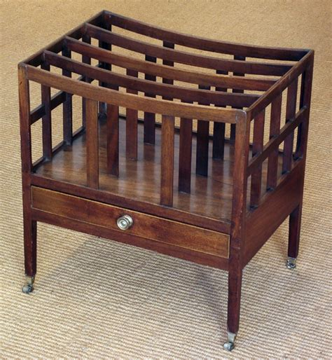 Canterbury Furniture by Antique Mahogany Canterbury Magazine Rack Antique Magazine Rack Antique Book Rack Misc
