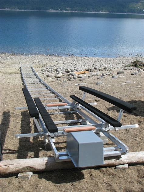 boat launch rails marine rail systems the hull truth boating and
