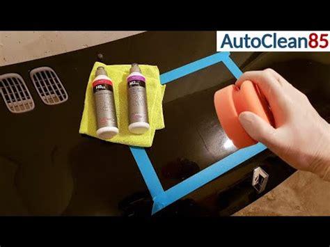 Auto Polieren Hologramme Entfernen by Auto Polieren Mit Koch Chemie Motorhaube Aufbereiten
