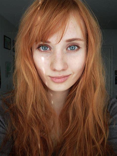 light brown hair color ginger pin red ginger orange natural artifical white skin