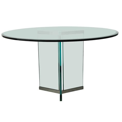 triangular dining tables triangular base dining table by