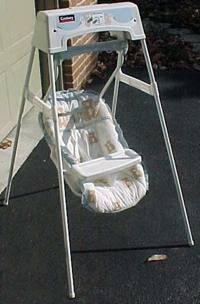 old school baby swing century offers cash reward for recalled infant swings four