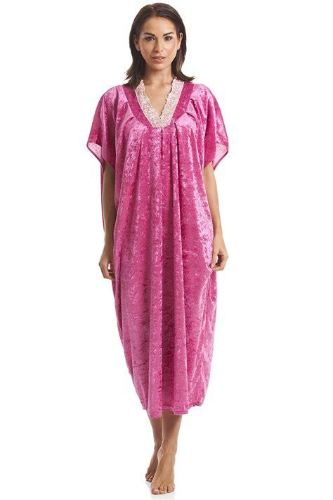 Luxury Pink luxury velour pink kaftan