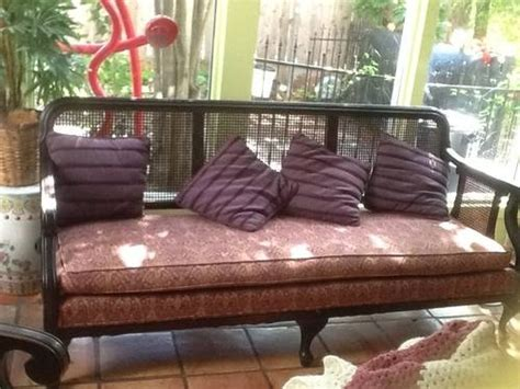 cane back sofa cane back sofa wood frame sun room and patio ideas