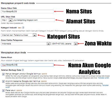 google formulir survei dan formulir yang mudah dibuat cara mudah mendaftarkan blog di google analytics your