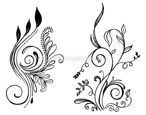 easy flower designs simple flower line drawings google search flower line