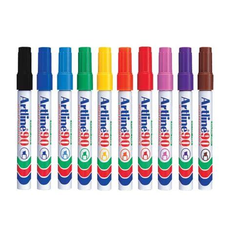 Marker Pen 0 5 Mm artline 90 marker pen 2 0 5 0mm chisel nib permanent