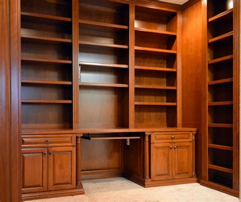 custom bookcases space makers