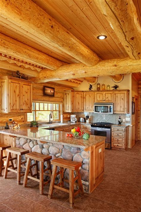 log cabin kitchen ideas best 25 log cabin kitchens ideas on pinterest log home