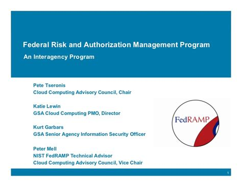 St Cloud Mba Program by Federal Risk And Authorization Management Program Fedr
