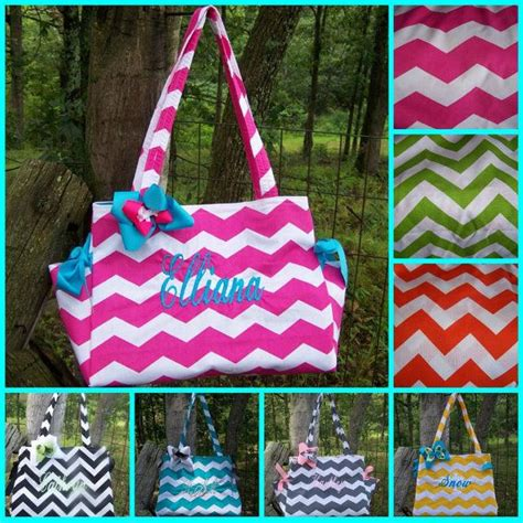 Bags In Turqoise And Violet by Pink Orange Purple Teal Turquoise Black Lime Gray Chevron