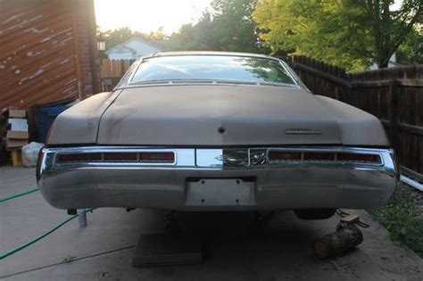 buick riviera restoration parts purchase used 1969 buick riviera for sale parts car or
