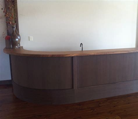 wood bar top finishes custom zebrawood bar top in hazlehurst mississippi