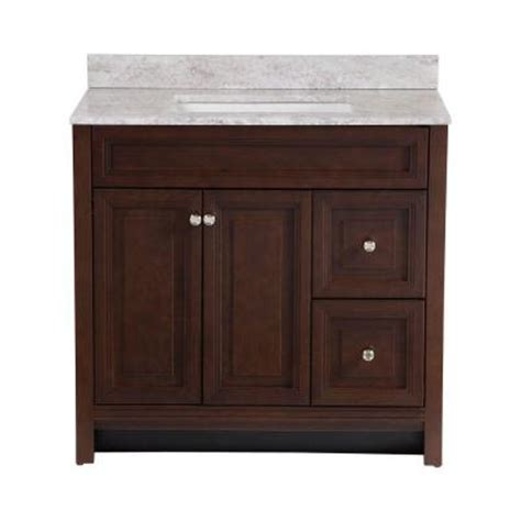 Effects Vanity Top by Home Decorators Collection Brinkhill 36 In Vanity In