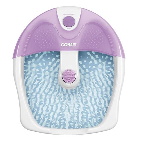 conair bathtub spa conair fb3 foot bath spa tub acupressure messager heat