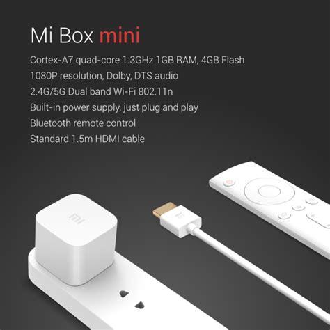 Xiaomi Mi Box Mini new xiaomi accessories the ultra compact mi box mini and