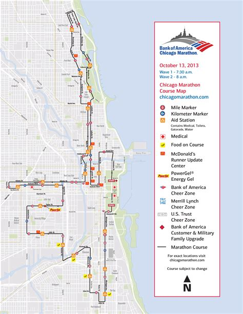 chicago marathon map city preps for chicago marathon chicago tonight wttw