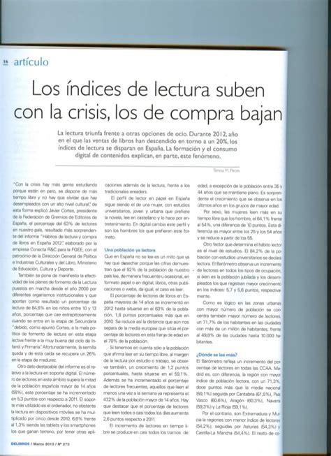 Indice De Compras De La Mba by Los Indices De Lectura Suben Con La Crisis Los De Compra