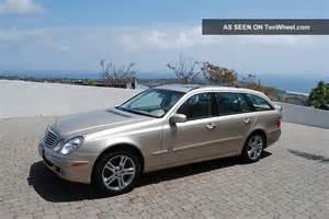 Socal Mercedes 2004 California Mercedes E500 4matic Wagon All