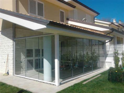 verande in vetro veranda vetro amazing pergola veranda in alluminio con