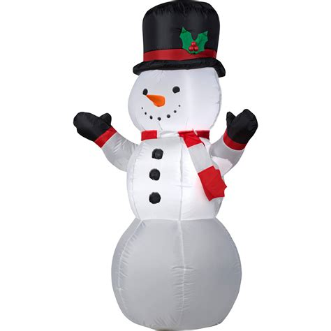 34 quot snowman with pipe blow mold walmart com