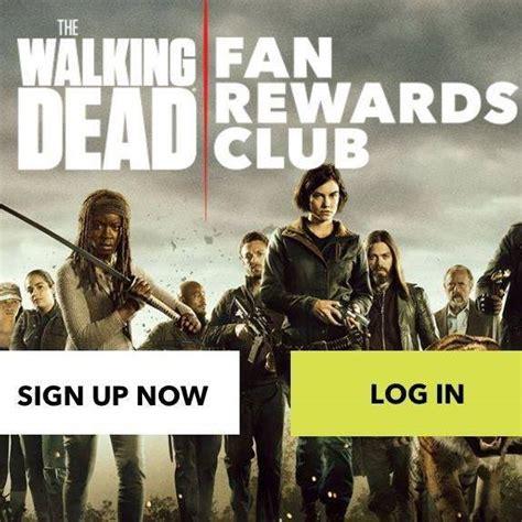 my fan club rewards the walking dead fan rewards club posts facebook