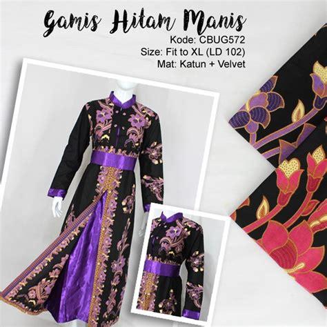 Gamis Batik Hitam gamis batik hitam manis gamis batik murah batikunik