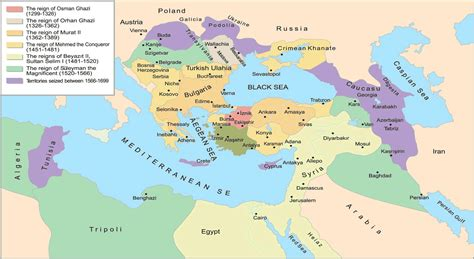 where were the ottomans located map of ottoman empire with facts istanbul tour guide