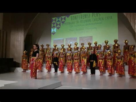 blue choir yamko rambe yamko arr agustinus bambang jusana the rezonans children choir paduan suara anak indonesi