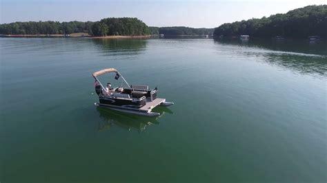 fastest pontoon boat 360 of fastest mini pontoon boat 60hp mercury youtube