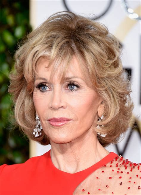 jane fonda hairstyles front and back more pics of jane fonda short wavy cut 6 of 27 short