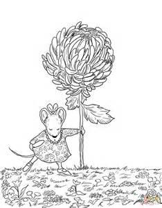 Chrysanthemum Coloring Page chrysanthemum book clip www imgkid the image
