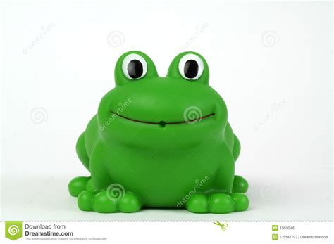 Baby Bathtub Toys Green Plastic Frog Royalty Free Stock Image Image 1959046