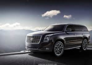 2014 Cadillac Escalade Pictures Render 2014 Cadillac Escalade Has Less Show More Class