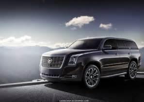 Pictures Of 2014 Cadillac Escalade Render 2014 Cadillac Escalade Has Less Show More Class