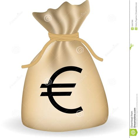 money bag with dollars stock photos image 16457393