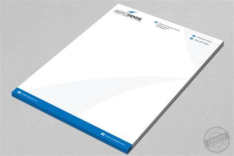 business letterhead corel draw design portfolio corporate id discretelogix