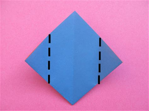 Origami Square Base - how to fold an origami box from a square base