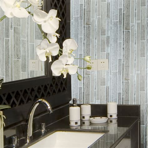 glass mosaic tile stainless steel metal wall tiles