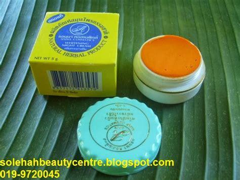 krim kunyit thai krim kunyit anna solehah beauty centre