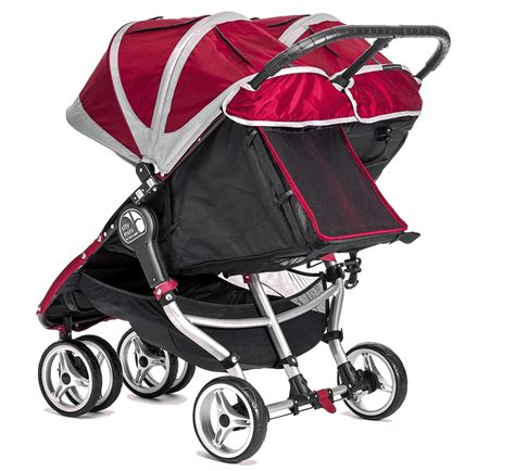 flat reclining stroller baby jogger 2016 city mini double strollers