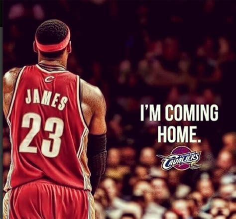 lebron returns to cleveland potential quot coming home